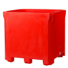 Red-bulk-container