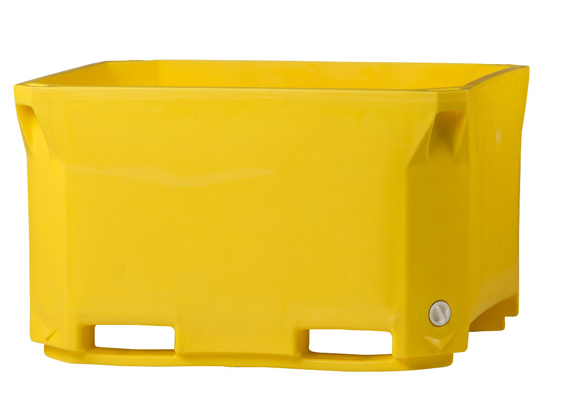 Stackable-pallet-box-yellow