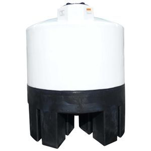 Conical plastic tank 500 gallons
