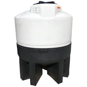 Conical plastic tank 300 gallons