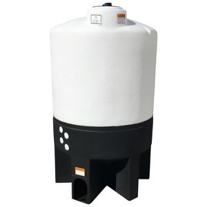 300 gallons conical plastic tank