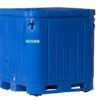 Insulated plastic pallet boxes, fish box