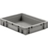 Plastic straight wall container 16 x 12 x 3