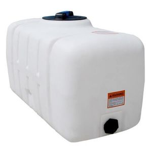 50 gallons rectangular plastic tank