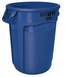 Brute Rubbermaid Blue containers