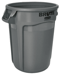 Brute Rubbermaid Gray containers