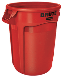 Brute Rubbermaid Red containers