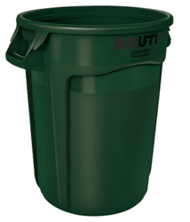 Brute Rubbermaid Green containers