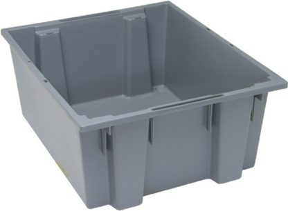 Bac alimentaire 24 x 20 x 10 gris