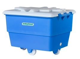 Lid for food and meat cart