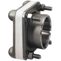 1-1/2 Stainless Steel Bolted Fitting